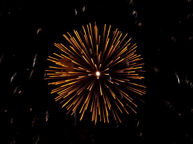 花火の写真(フリー素材)