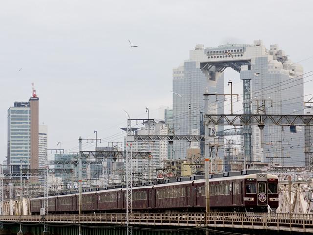 京都線阪急6300系の写真(フリー素材)