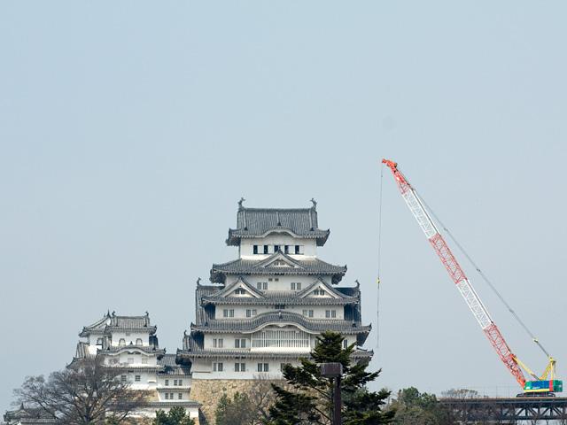 姫路城(ひめじじょう)の写真(フリー素材)