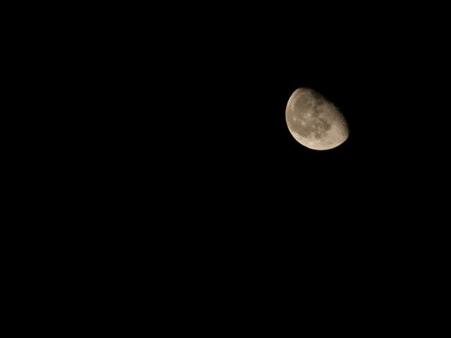 月の写真(フリー素材)