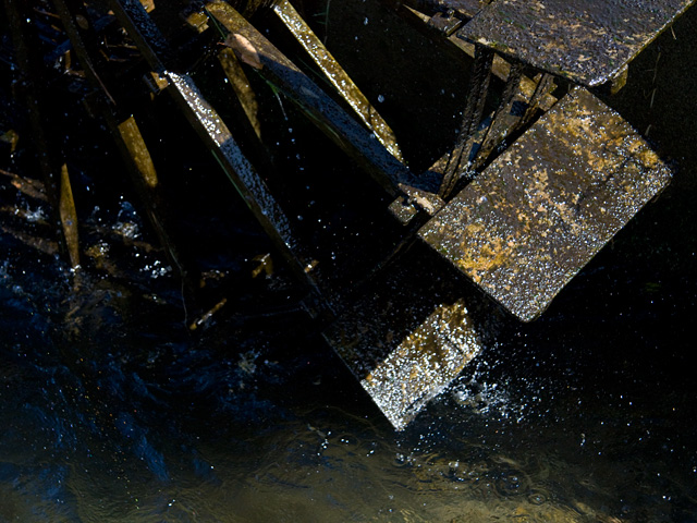 水車(すいしゃ)の写真(フリー素材)