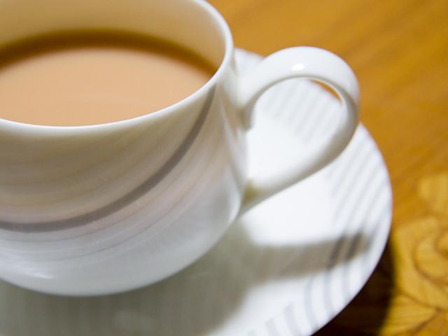 ティーカップの写真(フリー素材)