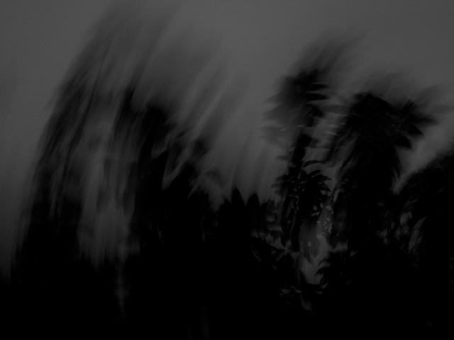 台風の写真(フリー素材)